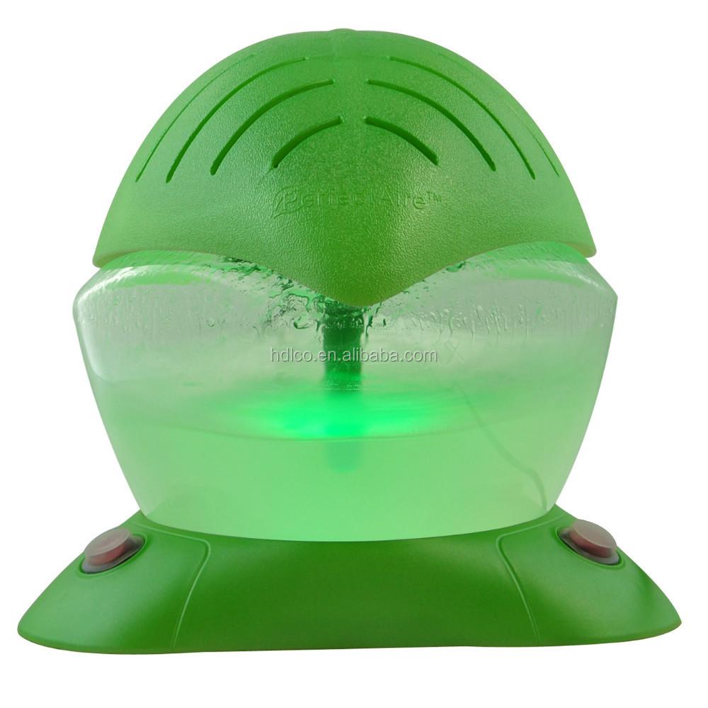 China Supplier Rainbow Light Green Leaf Shape Water Based Mini Air ...
