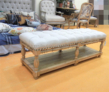 Living Room Furniture/bedroom Storage Ottoman/french Style Stool Ottoman