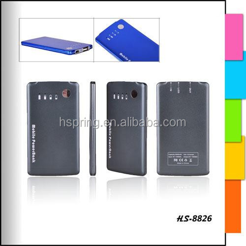 Smartphone power bank 3500mah portable mobile power bank, made in china