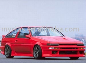 Toyota-AE86-Trueno-V-style-fiberglass-bo
