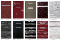 high gloss MDF acrylic kitchen cabinet door decorative panels
