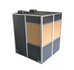 ดีเจเสียงสายฟ้าสายอาร์เรย์หัวจุกอลูมิเนียมเวทีกล่องอุปกรณ์ดีเจนั่งร้านสำหรับขาย
