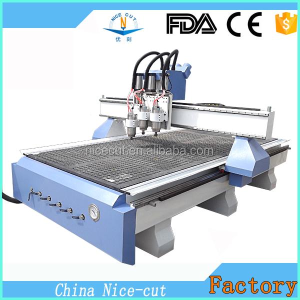 Nc-r1325 China Supplier 3d Gear Rack Aluminium Double Head Cutting ...