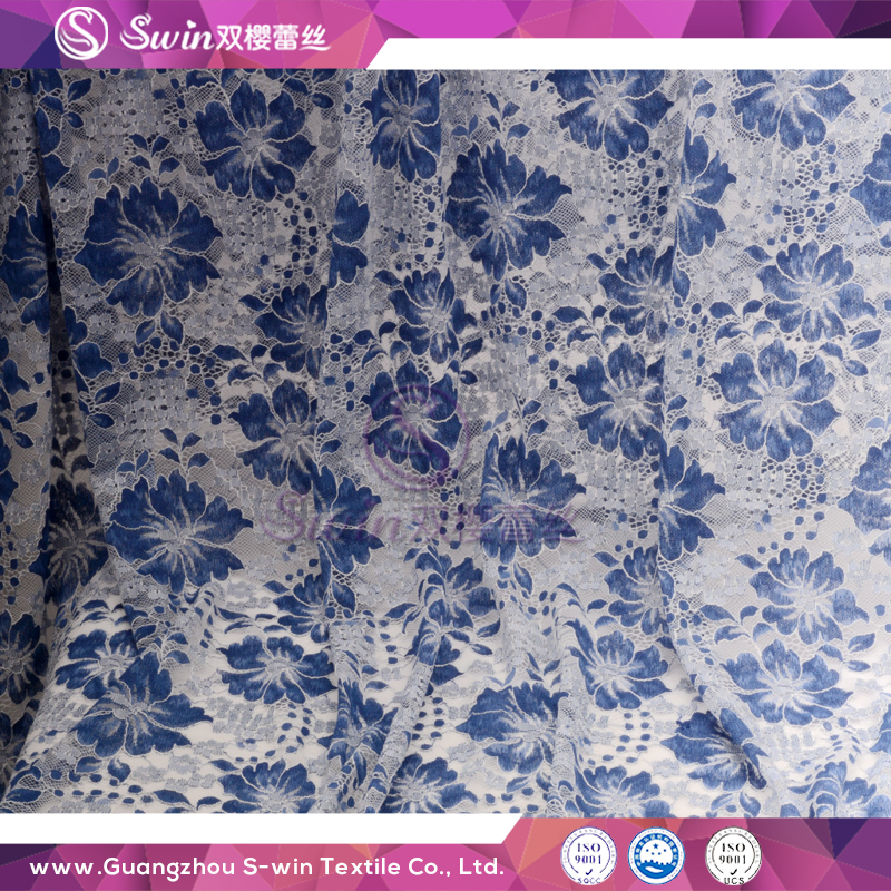 26 Years Lace Manufacturer Net Style lace garment Polyester African French Lace Fabric for Garment
