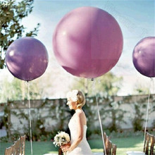 Colorful wedding decoration 36 Inches Thickening Balloon round Helium Inflable Big large Latex Balloons For Birthday Party