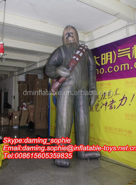 Giant Inflatable Ape- Man for Outdoors Promotion