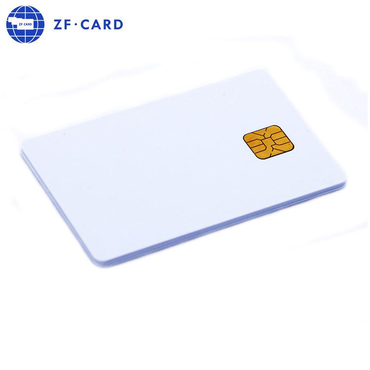 Angepasst Großhandel AT88SC25616C-MJ Smart Karte Hohe Qualität Kontakt IC Karte