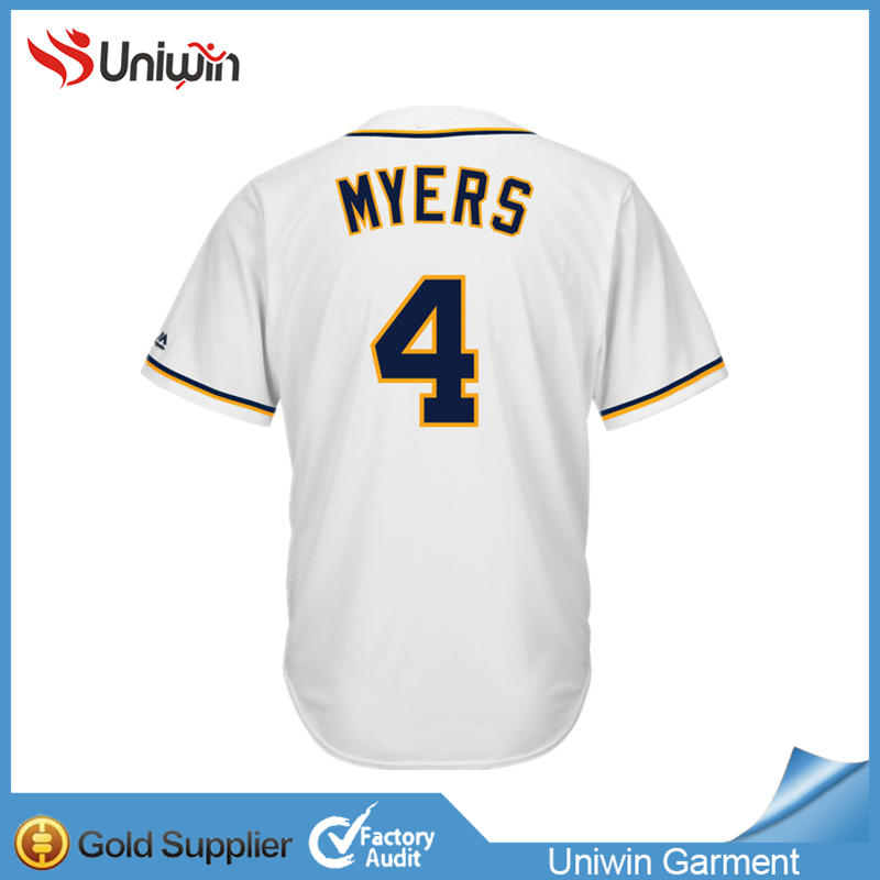 San Diego Padres myers #4 cheap baseball shirt mens fashion full dye sublimation sewing pattern baseball jersey