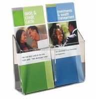 acrylic rack for catalog holder illustrated books
