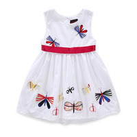 Latest Cotton Frock Design Dresses Hand Embroidered Baby Dress For Girls From China Supplier
