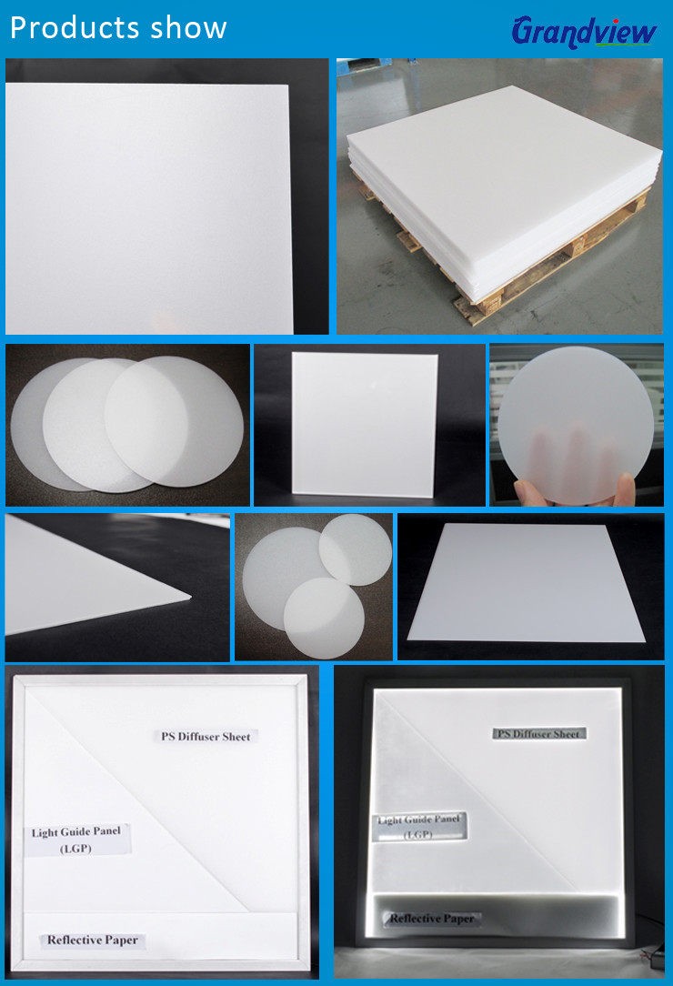15mm thickness milk white acrylic light diffuser sheet