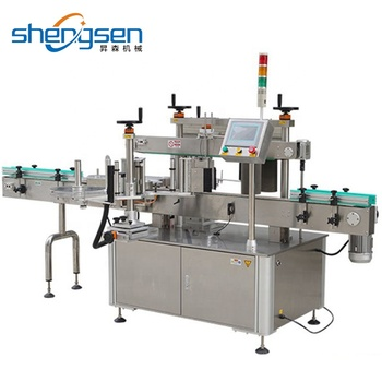 Double Stick Labels Machine Adhesive Label Machine For Shower Gel Bottles