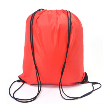 Promotional bags Polyester Fabric Backpack Drawstring Bag With Logo