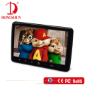 Black Color 10.1 inch car clip on headrest dvd player with 32 bit games