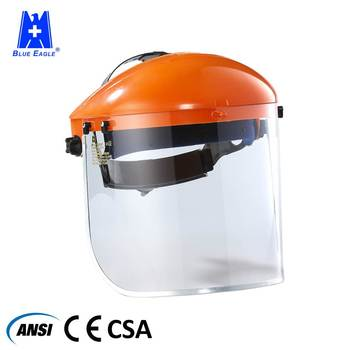 Industrial working CE plastic safety face shield