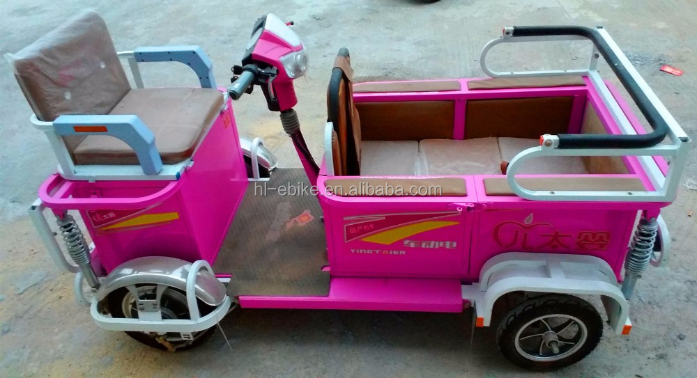 EEC/COC/CE certificate approved Electric quadricycles/pickup 4100005