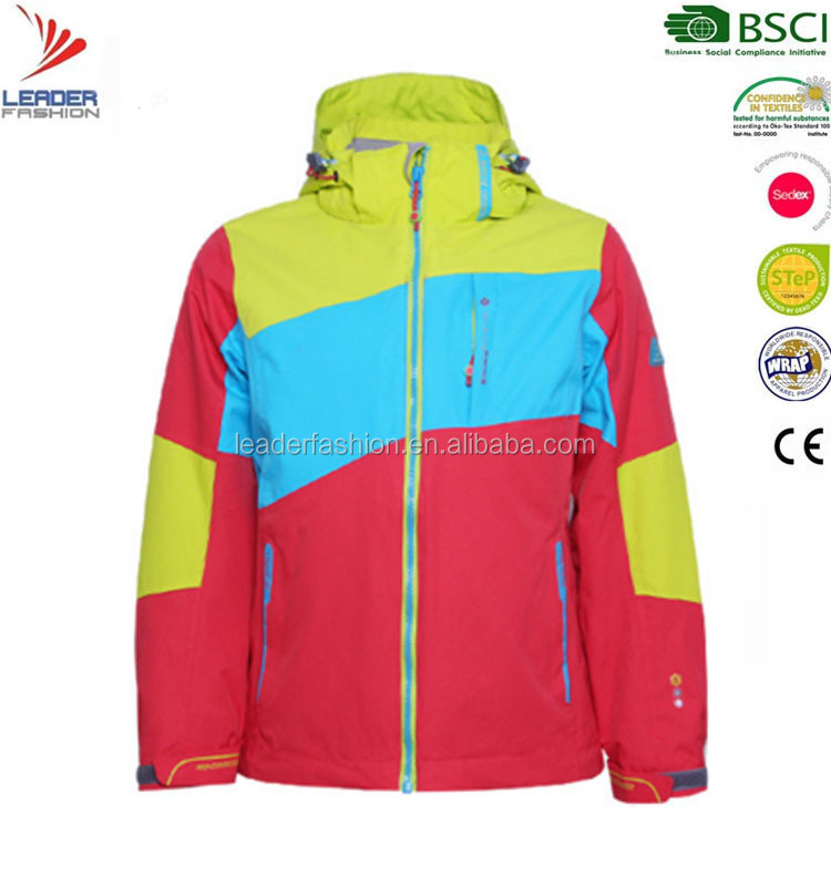 Wholesale High Quality 100% Polyester Fashion women windproof jacket Waterproof Softshell Winter Womens Rain Jacket