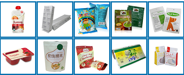 Food Grade Vacuum Plastic Food Packaging Bag For Rice