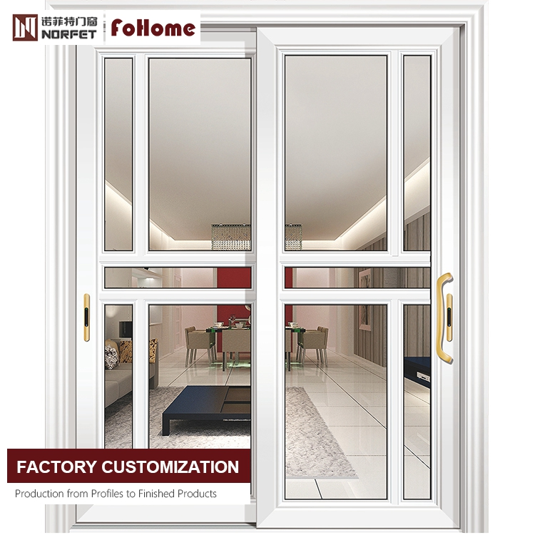 bedroom sliding door aluminum alloy wooden soundproof glass door interior french door