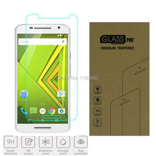 0.3mm Premium Tempered Glass Screen Protector Guard Film For Motorola Moto X Play ,with retail package