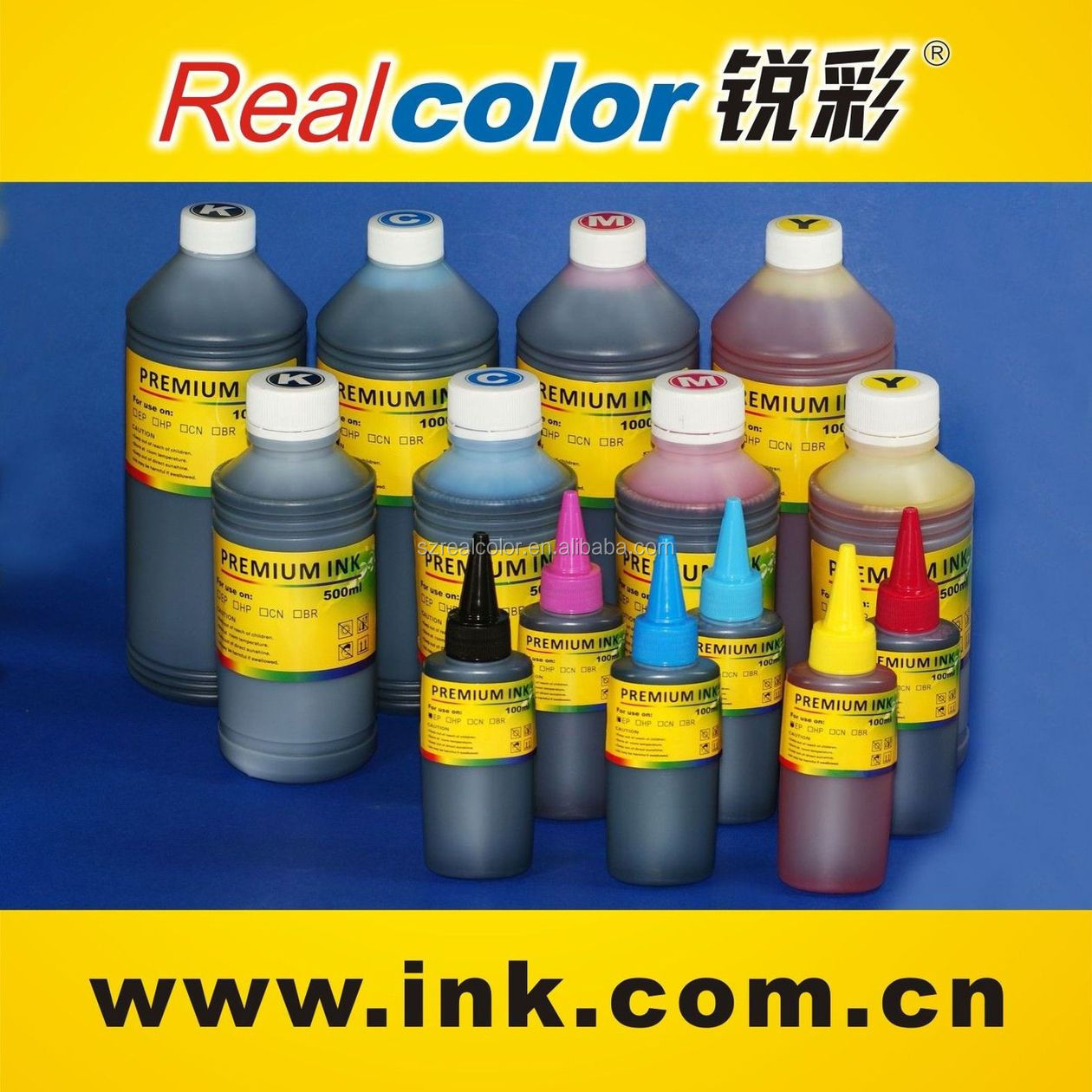 2015 High quality water transfer printing ink for mugs