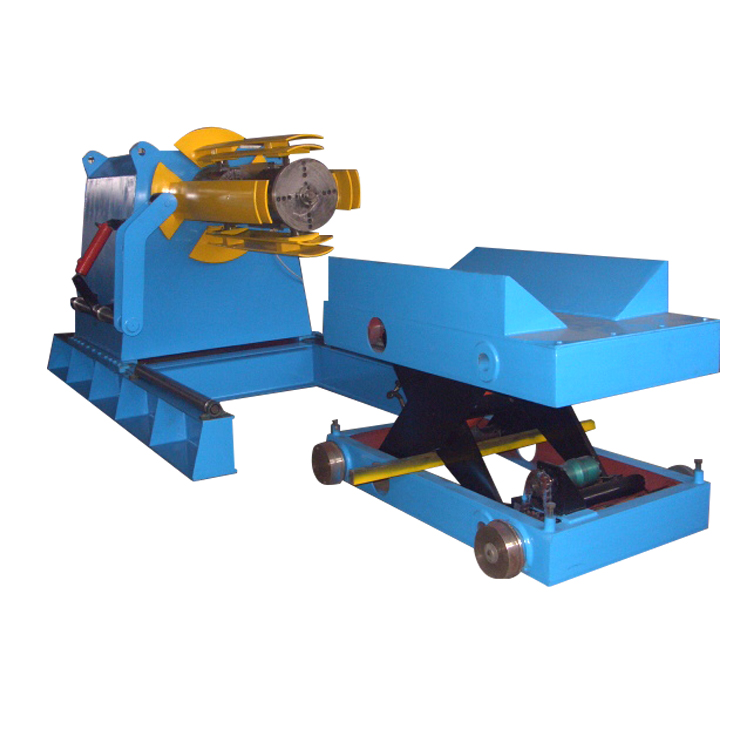 Forward decoiling and straightening machine new type automatic sheet decoiler