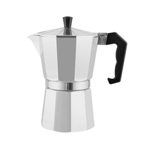 3cups Aluminum silver or color coating mini coffee maker/ portable travel coffee maker