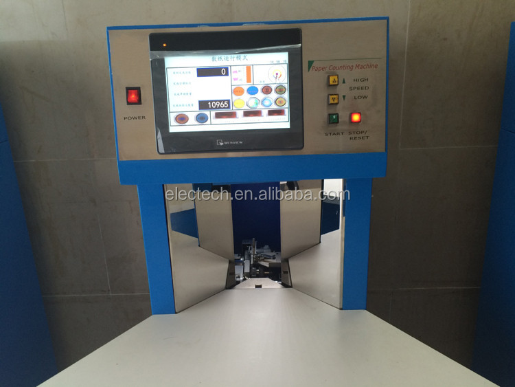 automatic paper counting machine