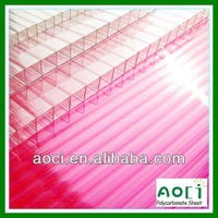 [Promotion] 100% fresh Bayer or GE free sample polycarbonate hollow sheets greenhouse