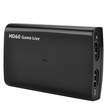 4K Input HDMI Game Capture HD60 1080P Video Game Recorder Device USB3.0 Live Stream Box for Nintendo Switch PS4 Xbox One 360 Wii