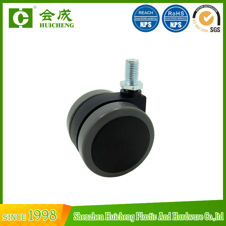40mm diameter office PU furniture caster