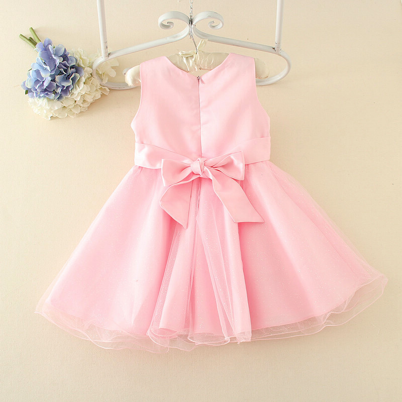 ccfc004c5 2018 baby girl frock patterns kids shining dance dress with sashes dresses