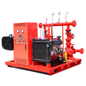 Stable And Efficient Rise Buildings Use Double Power Fire Fighting Axial Piston 400 Psi Low Volume High Pressure 40hp Water Pump