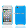 Mobile phone accessories factory in china,2in1 Dual Layer PC Silicone credit card slot case for iphone 4 4GS