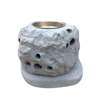 Wholesale Home Good Antique Chinese Cheap Custom Stone Candle Holder