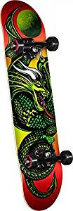 Powell Golden Dragon Mini Knight Dragon II Complete Skateboard