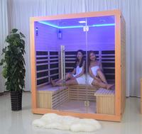 New design Fashionable steam sauna infrared sauna and steam combined room,sauna room for gym equipment