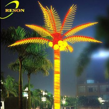 pretty latest products solar lighted palm trees buy solar lighted