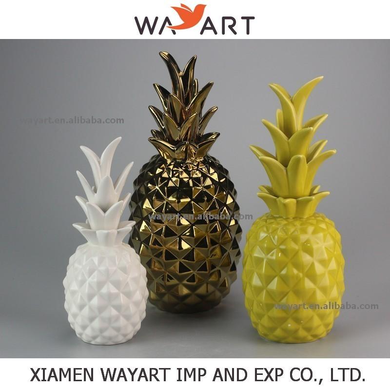 2015 nouveau design ananas en c ramique d coration de la for Decoration ananas