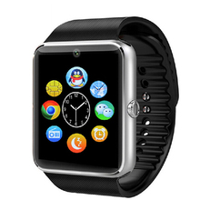 Smart Watch GT08 Promotion Bluetooth WristWatch support SIM card compatible with Android Smartphones iPhone better than U8 DZ09