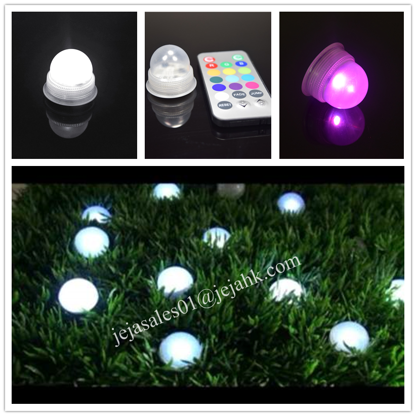 JEJA 1.25inch LED Pearls/Waterproof Mini Fairy Light/Magic LED Berries
