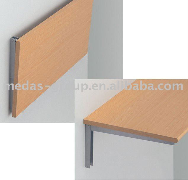 or shelf folding bench stainless amarine dp bracket made steel polished table max