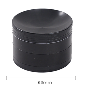 cusomiz wholesale dry spice parts high quality metal 4 layer tobacco smoking weed zinc concave herb grinder grinders