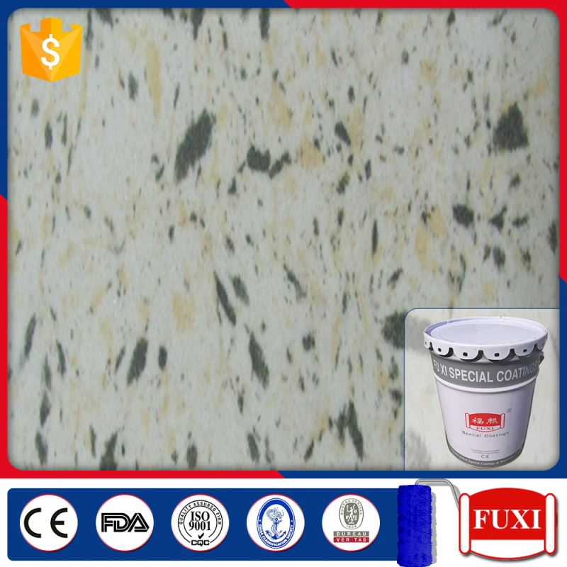 FX-Z300 Decorative Wall Coating Water Based Stone Effect Paint