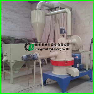 Top quality 6 rollers Ultra fine wood powder mill with final size 60-325 mesh, wood powder milling machine
