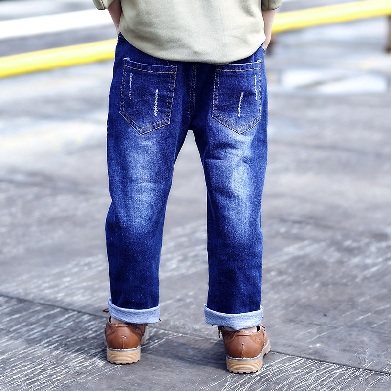 Ebay Denim Scratch And Printing New Style Boys Pants Jeans Buy New