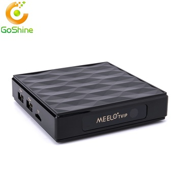 Mini Linux tv box Meelo TVIP 412 Amlogic S805 Arabic iptv French Indian USA UK Italain channels better than 254 iptv box