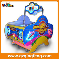 2015 Qingfeng amusement game for kids arcade machine air hockey multiple games