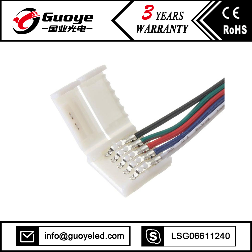 Shenzhen Manufacturer t connector led light accessories din 5 pin connector