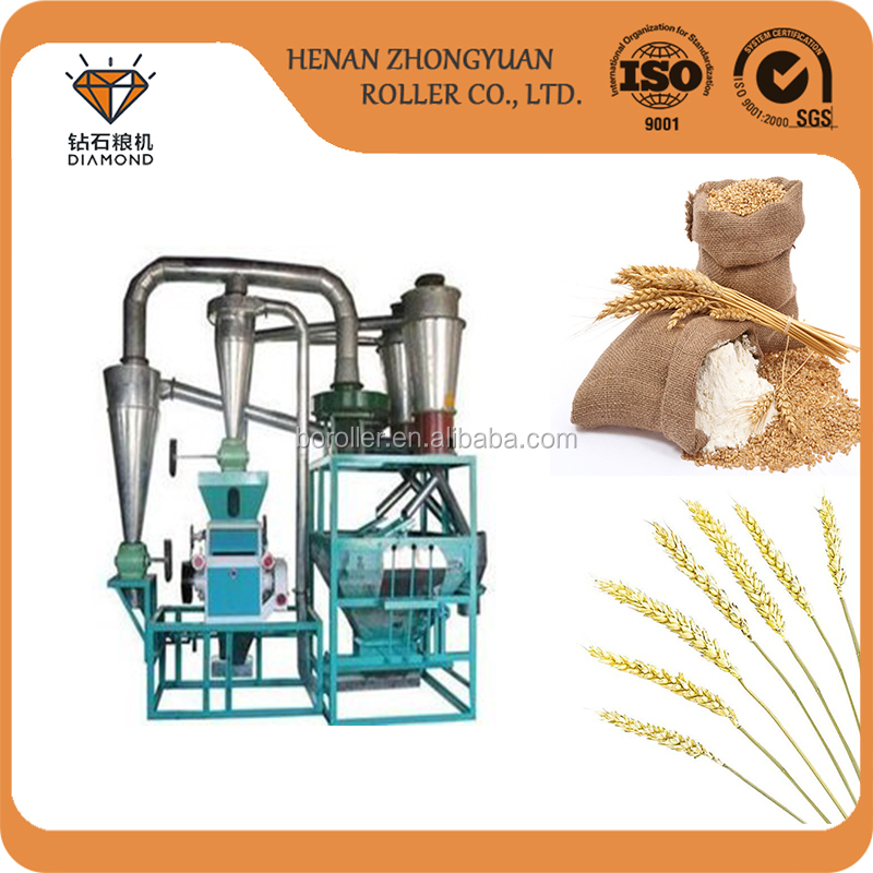 15t per 24h corn milling machine for uganda farmer or new star in family use